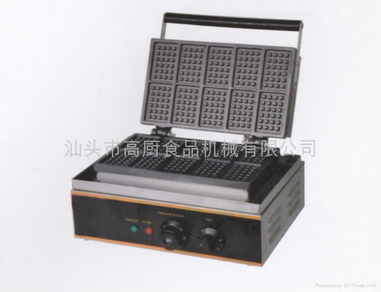 商用热卖十格华夫炉;松饼机,华夫炉华夫饼 小食设备专