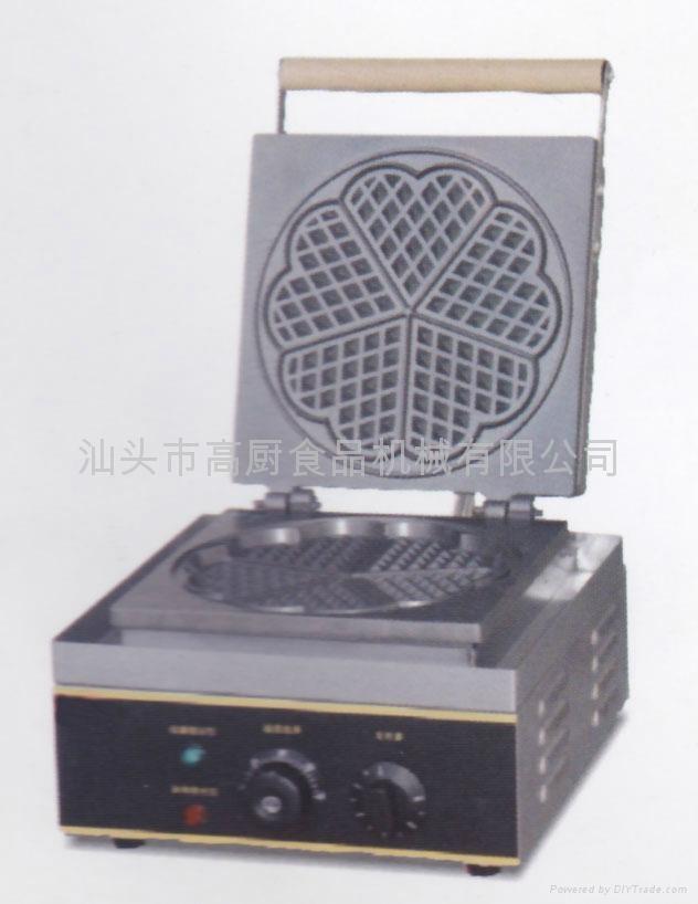 商用华夫炉 松饼机 烤饼机 电热松饼机 华夫饼 威夫饼 小食设备 1