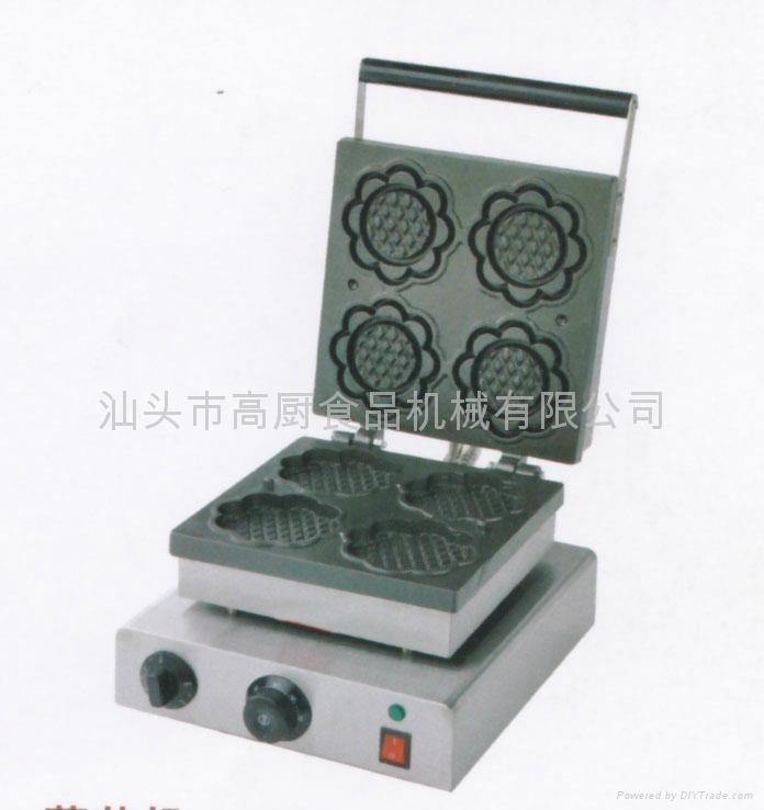 Sunflower waffle machine/ waffle making machine