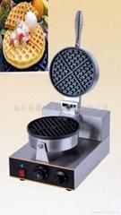 商用单头华夫炉 松饼机 电热华夫饼 华夫饼 烤饼机 小食设备专卖