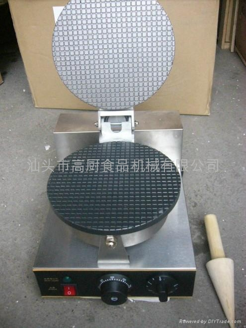 Electric cone baker, Ice cream  cone maker,crepe machine/ egg roll maker