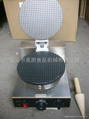 商用單頭電熱雪糕皮機,蛋捲機,蛋筒機