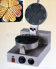 Heart-shaped cake machine for commercial use/ waffle baker
