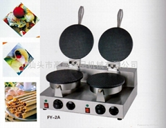 Electric cone baker, Ice cream cone maker, ice cream making machine/