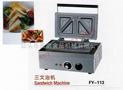 三文治機 四格三明治機 烤麵包機 早餐必備 熱麵包機