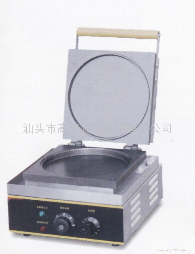 商用华夫炉 松饼机 圆圆饼烤饼机 电热松饼机 华夫饼 小食烤饼炉 1