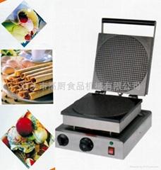 單頭方形雪糕皮機、脆皮機、冰淇淋蛋筒機,蛋捲機