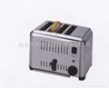 stainless steel of 4 slice toaster/