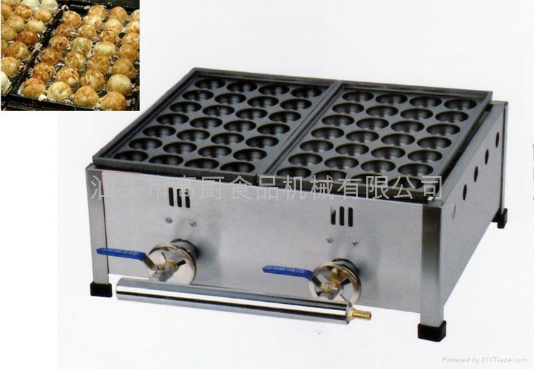 Gas meatball maker, meatball forming machine/ octopus ball