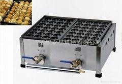 廠家 直銷商用杰億牌 燃氣二板日式魚丸爐、章魚小丸仔機