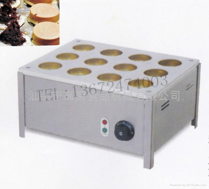 商用12孔电红豆饼红豆饼机 日本大判烧 红豆饼炉 送配方 1