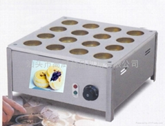Electric 16 hole red bean machine,bean care grill/Layer cake machine