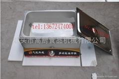 2013 multifunction Gas type deep fryer/ food steamer/Stainless steel Sauce pots/