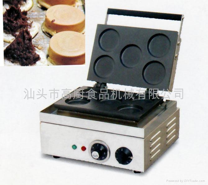 五格红豆饼,台湾车轮饼炉 不粘红豆饼机 1