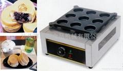 9孔电红豆饼 铝板 不粘红豆饼机 台湾大判烧 车轮饼机 厂家直销