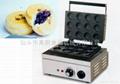 商用小食设备 电热十二红豆饼机,台湾车轮饼红豆饼机