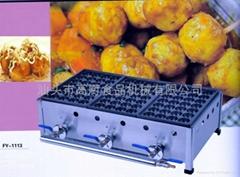 三板燃氣日式魚丸爐,魚丸爐、章魚小丸子機