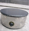 Round type Gas crepe machine/ French crepe maker 2