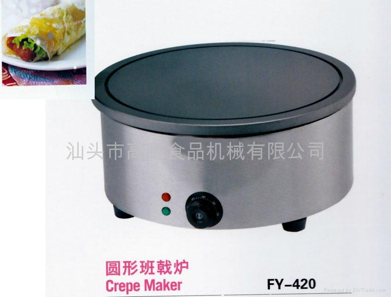 Electric French crepe making machine/ non-stick pan /pancake machine 1