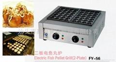 Electric type for meat ball former/ Fish ball maker/ takoyaki maker/