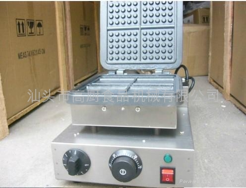 with recipe for 4 pcs Square waffle oven | waffle maker/ waffle making machine 1