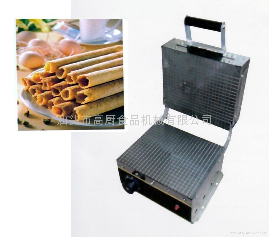 商用电卷筒机 蛋卷机 脆皮机 冰淇淋皮机 送配方 小吃设备 甜筒皮 1