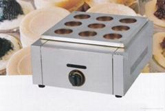 9孔燃气红豆饼 红豆饼机,台湾大判烧车轮饼机 厂家直销