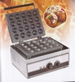 Double sided electric fish ball machine/