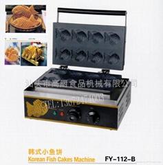 商用韓式小魚餅 8條電熱魚餅仔機 小食設備機器 噴巢不粘小魚餅機