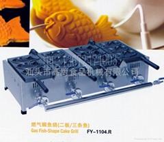商用2012新产品 燃气鲷鱼饼,鱼饼仔机 雕鱼烧小食设备 鲷鱼烧机