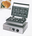 Commercial electric Korean fish cake grill/ fish cake baker/snack machine