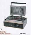 Electric waffle maker machine/   snacks equipment machine 1