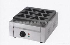 16 hole Electric reb bean cake machine/ waffle maker/sandwich maker