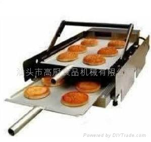 麥當勞烘雙層漢堡機器 商用 漢堡店成套設備烘包機 1