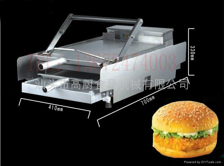 麥當勞烘雙層漢堡機器 商用 漢堡店成套設備烘包機 3