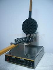 Top grade design 110/220V EGG WAFFLE MAKER/ double instrument control