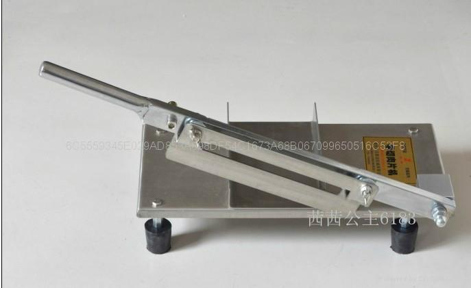 手動型切凍肉片機/凍肉切割機 2