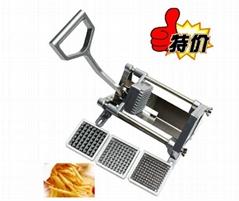 不锈钢手动切条机 切薯条机 切土豆条机 切萝卜、黄瓜、香芋条机