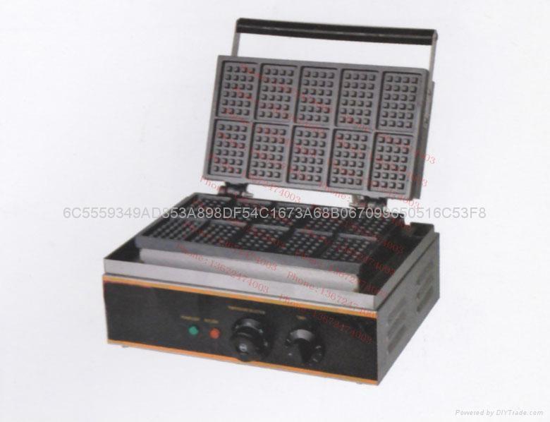 商用电热十格华夫炉  1