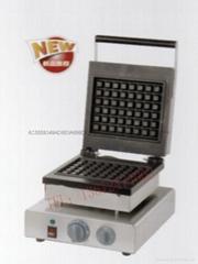 新款電大格不粘華夫爐 松餅機 烤餅機 方形華夫餅機