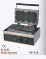 CE认证 松花饼机 电热华夫炉 小吃机械设备 1