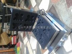 110V / 220v Electric fancy waffle maker machine butterfly shapes