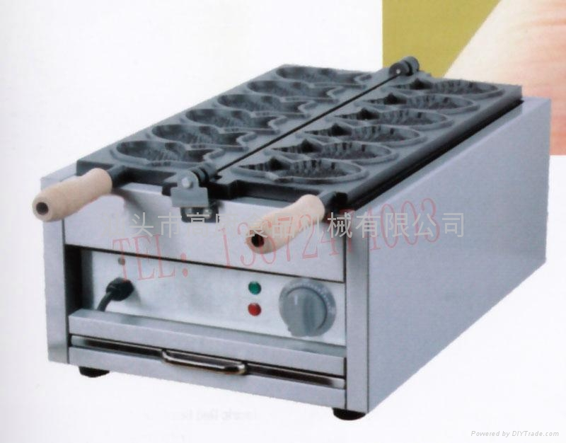 Electric fish cake grill , fish waffle maker, fish cake oven