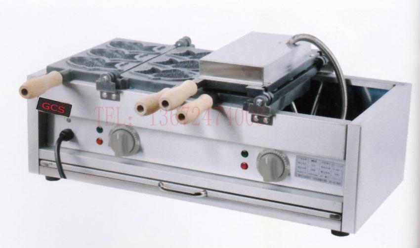 Electric taiyaki  machine/ one time 6 pcs fish cake waffle grill 1