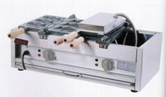 商用小食设备 2012新产品电鲷鱼饼,饼鱼饼仔机 雕鱼烧 烤鱼饼机
