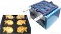 Electric fish Taiyaki maker machine with recipe / fish waffle baker
