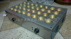 32孔電熱形臺灣紅豆餅機/車輪餅機/日式大判燒