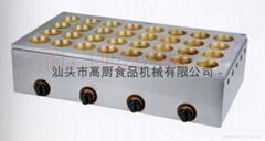商用32孔燃氣紅豆餅機  銅板紅豆餅/臺灣車輪餅