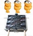 新款电热冰淇淋鲷鱼烧机韩国烤鱼