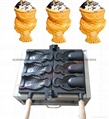 Electric Ice cream Taiyaki machine with open mouth Taiyaki maker
